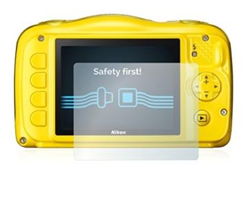 6x Displayschutzfolie für Nikon Coolpix S33 Folie Schutzfolie Displayfolie - Klar - 2
