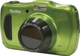 Rollei Sportsline 100 - 20 Megapixel, 4-fach optischer Zoom, wasserdicht bis zu 10 Meter, Foto-Zeitraffer-Funktion - Grün - 1