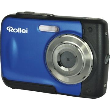 Rollei Sportsline 60 Digitalkamera (5 Megapixel, 8-fach digitaler Zoom, 6 cm (2,4 Zoll) Display, bildstabilisiert, bis 3m wasserdicht) blau - 1