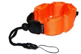 Schwimmende Polaroid Handschlaufe für wasserdichte Kameras, Camcorders, Gehäuse (orange) - 1