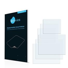 6x Displayschutzfolie für Easypix Aquapix W1400 Active Vorder- und Rückseite Folie Schutzfolie Displayfolie - Klar - 1