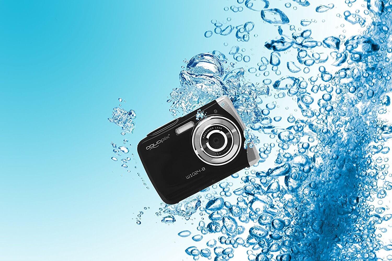 Die Unterwasserkamera von Easypix unter Wasser