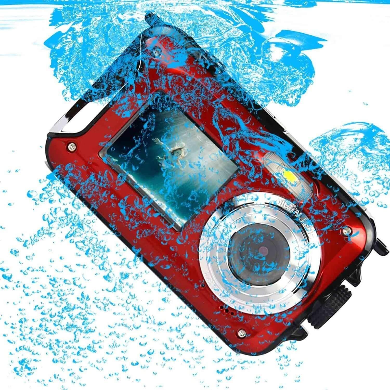 Die Unterwasserkamera von Stoga unter Wasser