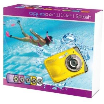 Die Verpackung der Easypix Unterwasserkamera