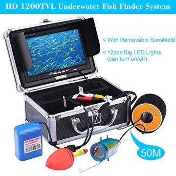 KKMOON 50M Unterwasser Fisch Finder