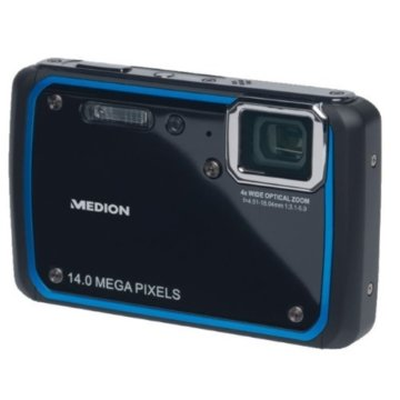 MEDION MD 86544 S43044 14MP  LC-Display Wasserdichte Digitalkamera