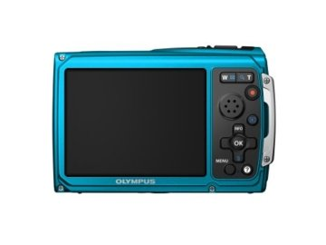 Olympus Tough TG-320 Digitalkamera Rückansicht