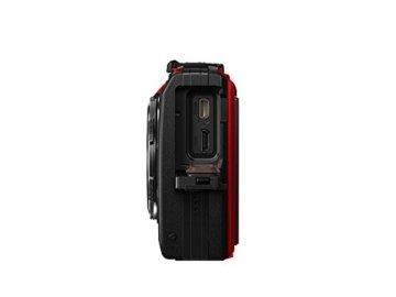 Olympus Tough TG-5 Digitalkamera Seitenansicht von rechts