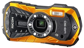 Ricoh Digital Kamera orange