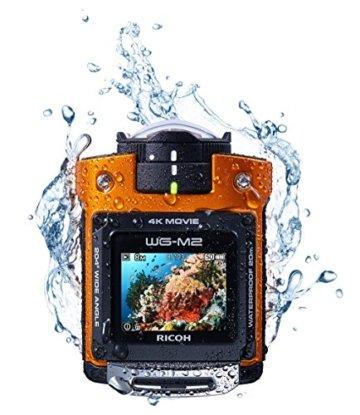 Ricoh WG-M2  unter Wasser
