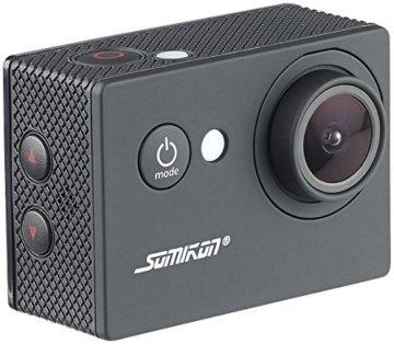 Somikon HD-Action-Cam DV-1212 mit 720p-Auflösung, Unterwasser-Gehäuse, IP68