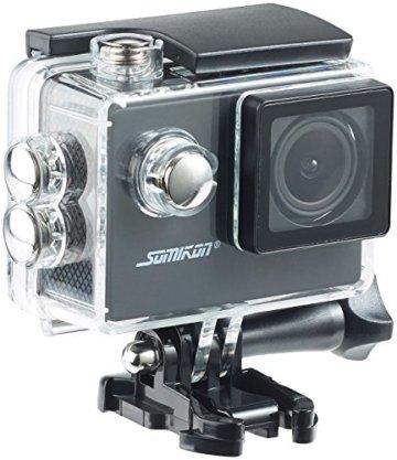 Somikon HD-Action-Cam in der Hülle