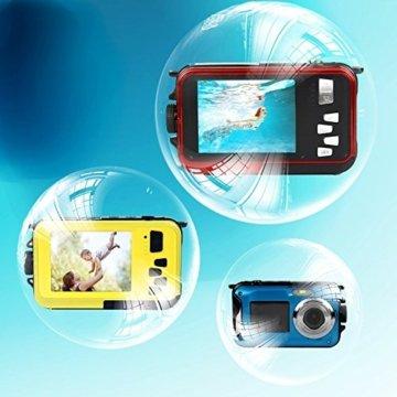 Unterwasser-Kamera Stoga CGT001 in Seifenblasen in verschiedenen Farben