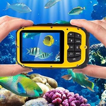 Unterwasser Kamera Stoga in Aktion