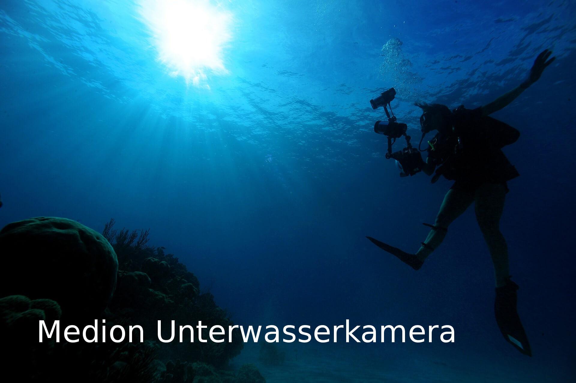 Unterwasserkamera von Medion